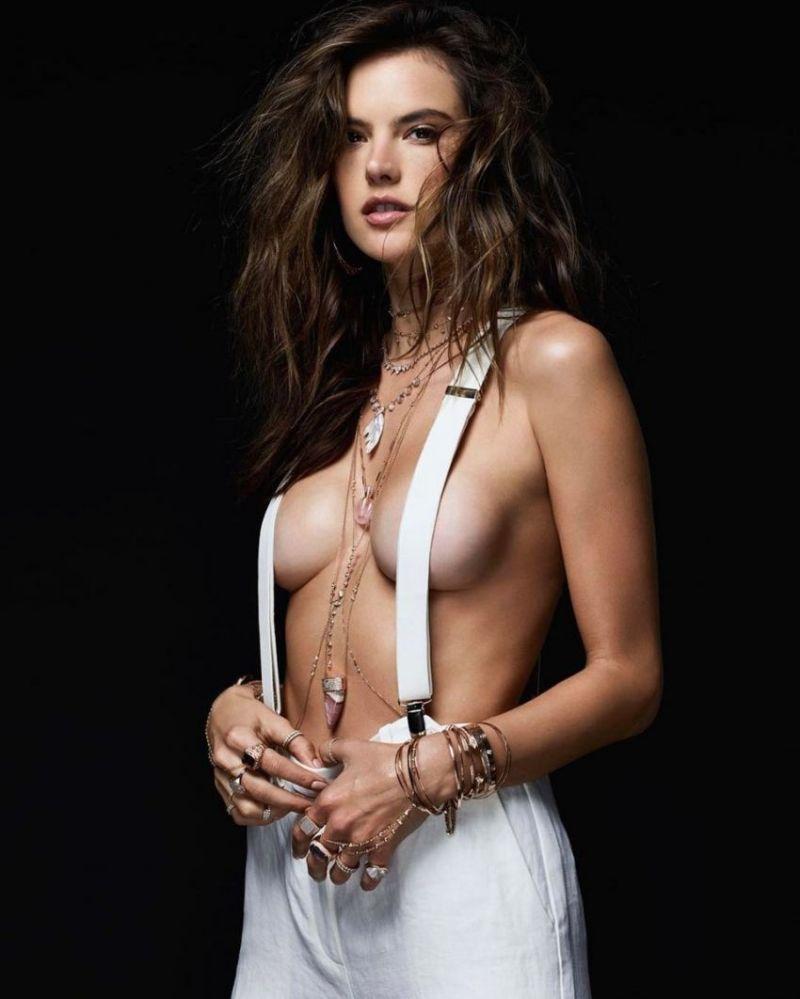 Alessandra Ambrosio Nude Celeb Pics