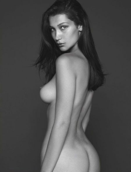 Bella Hadid nude outtake pic leaked