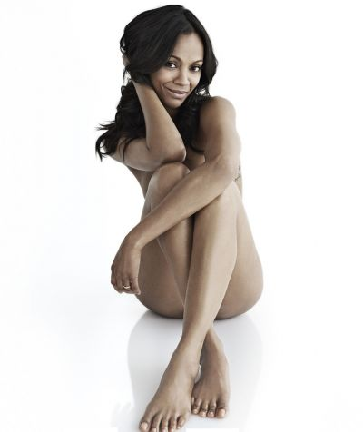 Zoe Saldana nude naked photo shoot