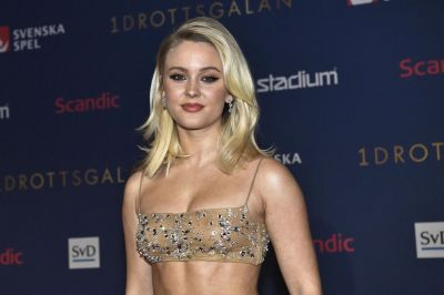 Zara Larsson See Through Dress