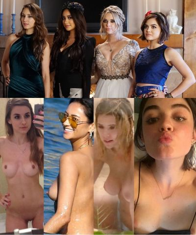Pretty Little Liars Actresses Nude