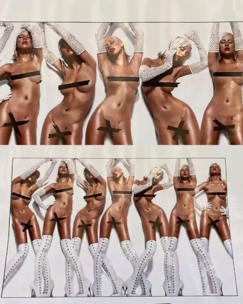 Christina aguilera hot body