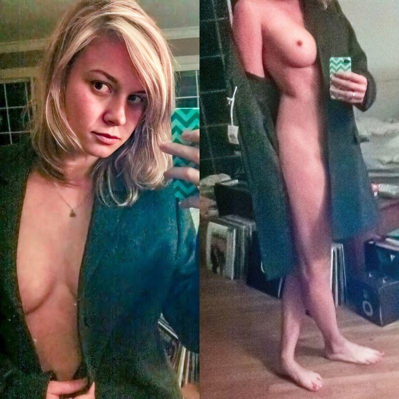 Tits brie larson Brie Larson