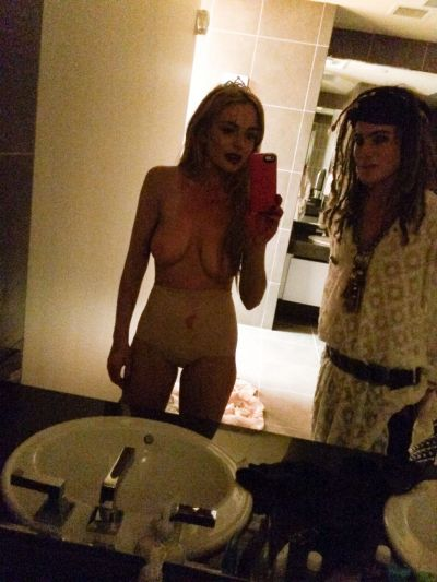 Lindsay Lohan Nude The Fappening Leak