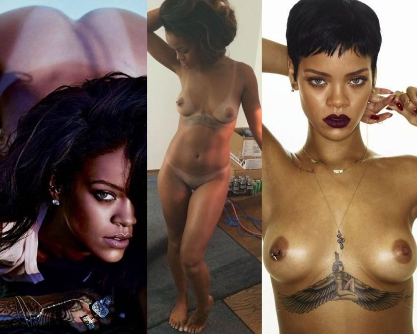 Rihanna nude naked boobs ass pussy Complete Collection