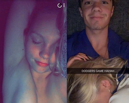 Jordyn Jones nude and sex pics from Snapchat