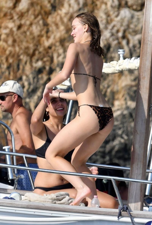 Lily Rose Depp Bikini